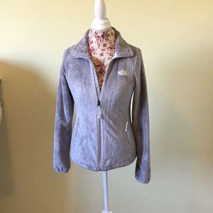 Gray Fleece North Jacket XS